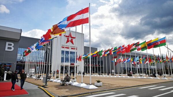 The Patriot congress and exhibition center in the Moscow Region, a venue hosting the ARMY 2017 International Military-Technical Forum - Sputnik International