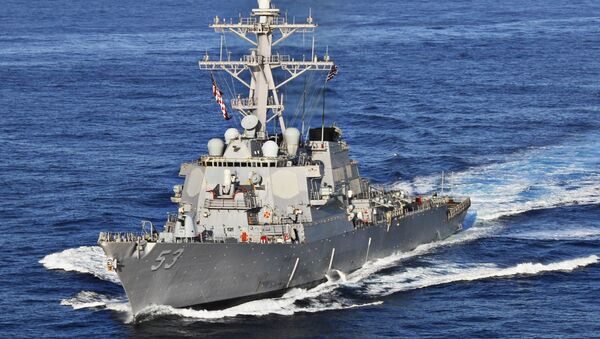 USS John Paul Jones - Sputnik International