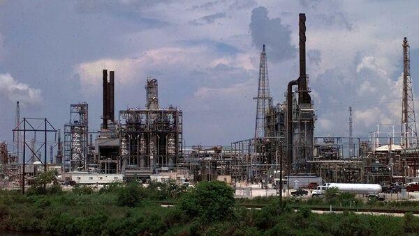 File Photo of Chemical Plant Near Houston, Texas - Sputnik International