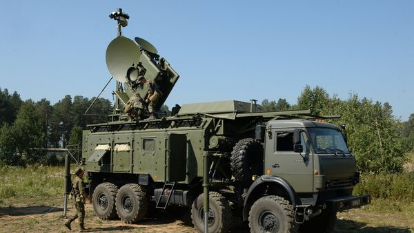 Electronic warfare units of the Central Military District during a special tactical drill at Sverdlovsky base. File photo - Sputnik International