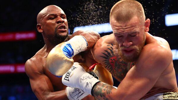 Боксерский поединок между Флойдом Майвезером и Конором Макгрегором в Лас-Вегасе - Sputnik International