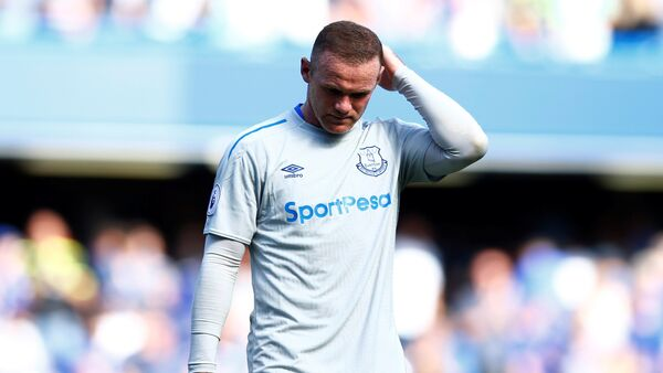 Football Soccer - Premier League - Chelsea vs Everton - London, Britain - August 27, 2017 Everton's Wayne Rooney looks dejected after the match - Sputnik International