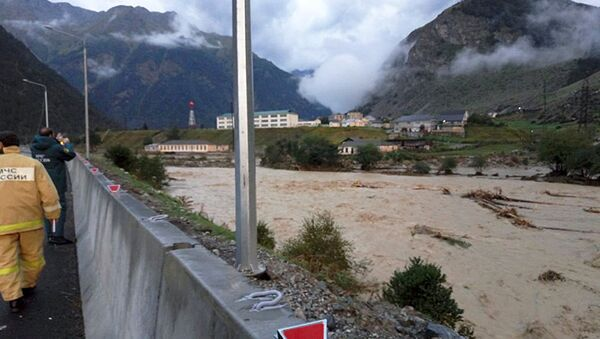 Mudslide in Kabardino-Balkarian Republic - Sputnik International