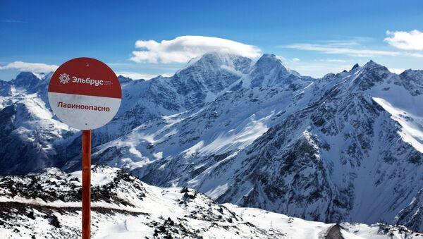Mountains at the Elbrus all-season tourist-recreation complex in Kabardino-Balkaria - Sputnik International