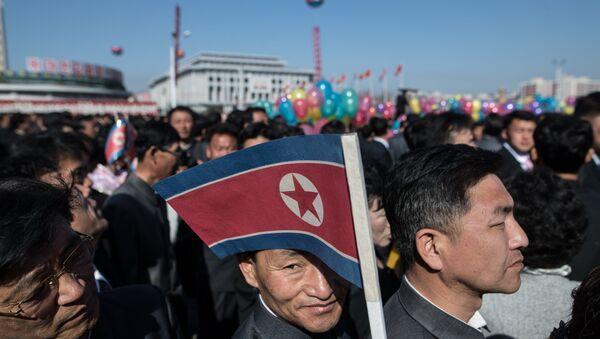 Opening of new residential area on Ryomyong Street in Pyongyang - Sputnik International