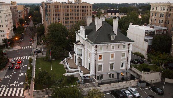 Building of Russian Trade Representation in Washington DC - Sputnik International