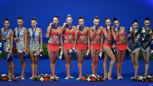 35th Rhythmic Gymnastics World Championships - Sputnik International