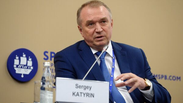 Sergey Katyrin, President of the Chamber of Commerce and Industry of the Russian Federation (File) - Sputnik International
