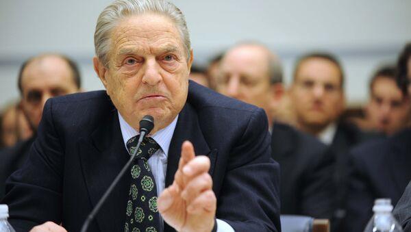 Soros Fund Management Chairman George Soros testifies on Capitol Hill in Washington (File) - Sputnik International