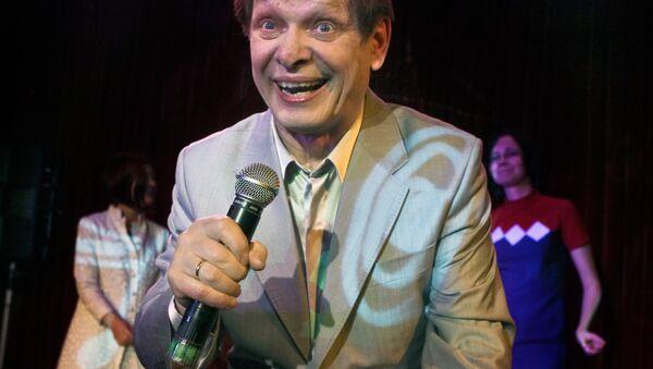 Singer Eduard Khil live in concert at 16 Tons Club, Moscow, 2010 - Sputnik International