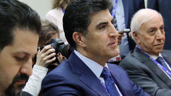 Prime Minister of Iraqi Kurdistan Nechirvan Barzani - Sputnik International