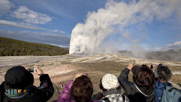 Yellowstone Supervolcano - Sputnik International