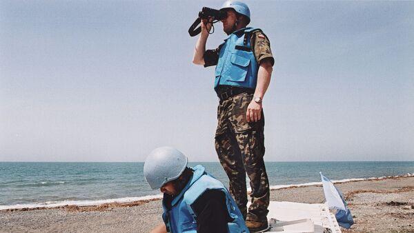 UN peacekeepers. (File) - Sputnik International