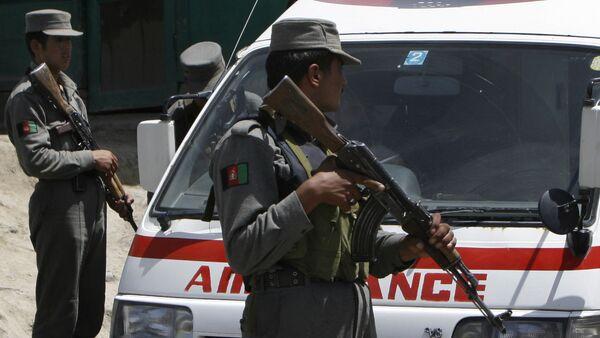 Afghan ambulance. (File) - Sputnik International