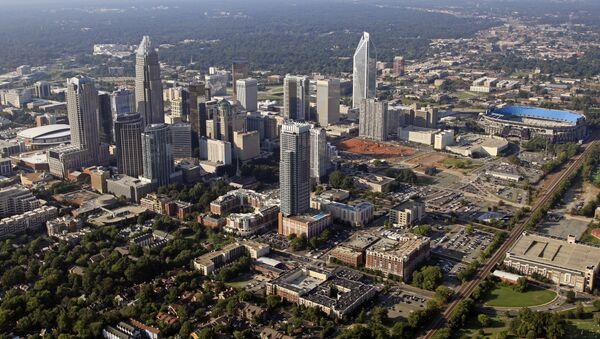 Skyline of downtown Charlotte, North Carolina. - Sputnik International