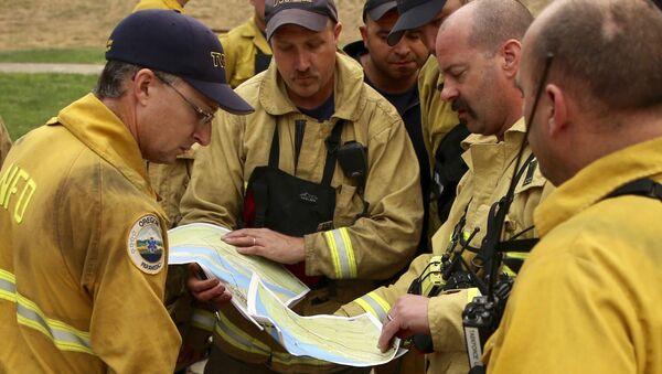 Oregon firefighters - Sputnik International