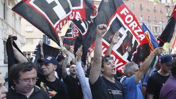 Forza Nuova extreme right wing party activists. (File) - Sputnik International