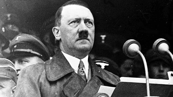 German Chancellor Adolf Hitler during his address to 80,000 workers in the Lustgarten, Berlin, May 1, 1936, s part of the May Day Celebrations. - Sputnik International