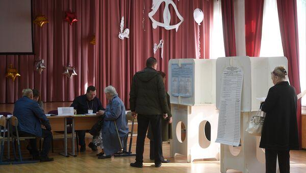 Voting day in Moscow - Sputnik International