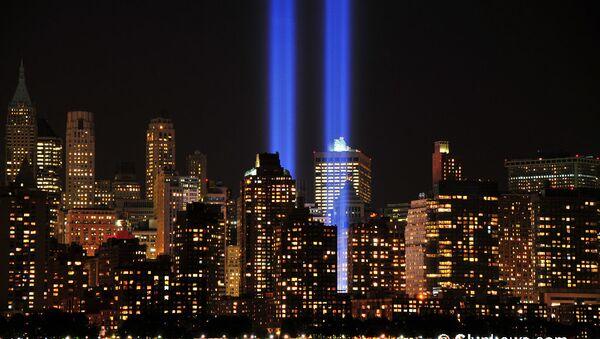 World Trade Center 9-11 Tribute of Light 2012 - Sputnik International