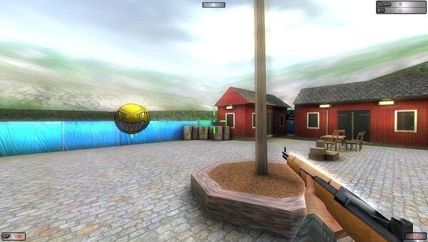 Shooter game - Sputnik International