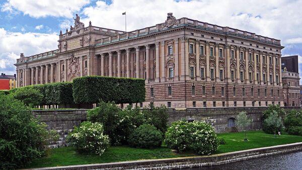 Sweden parliament building - Sputnik International