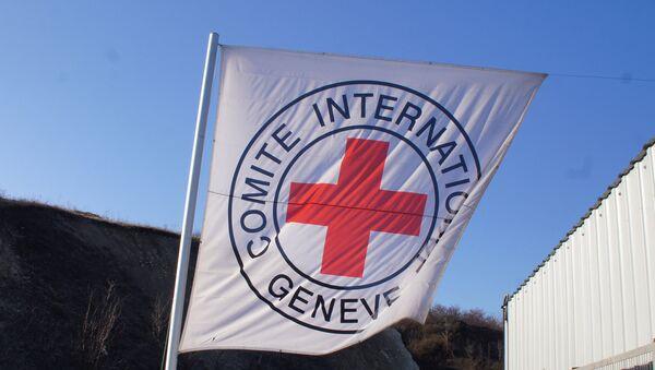 Flag of the International Committee of the Red Cross. (File) - Sputnik International