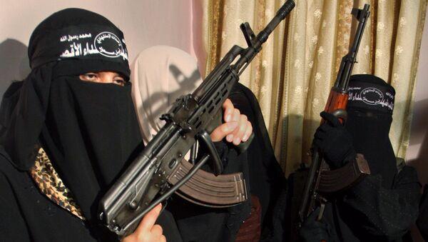Female suicide Bomber. (File) - Sputnik International
