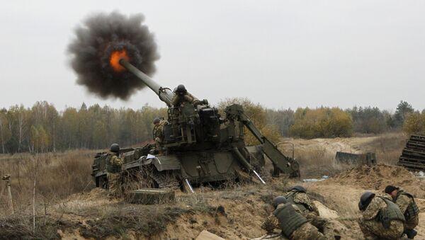 Ukrainian artillerists (File) - Sputnik International