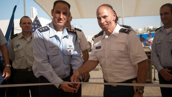 US-IDF Base in Israel - Sputnik International
