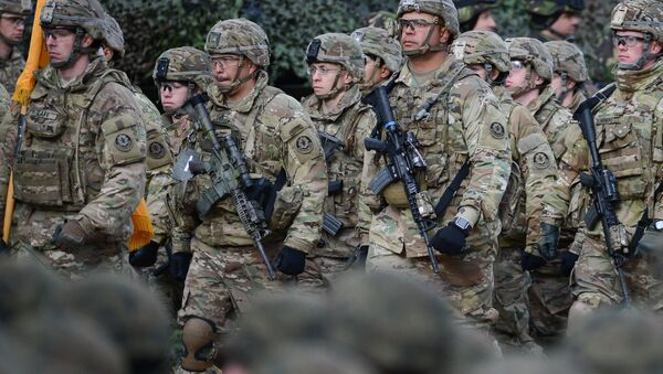 NATO's multinational battalion in Poland. (File) - Sputnik International