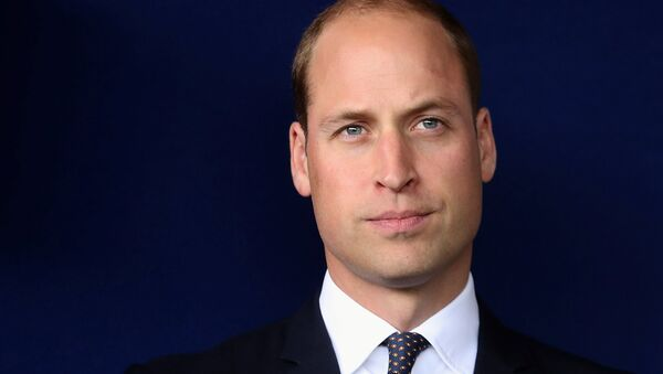 Britain's Prince William poses for a photograph as he visits Aintree University Hospital in Liverpool, Britain, September 14, 2017. - Sputnik International