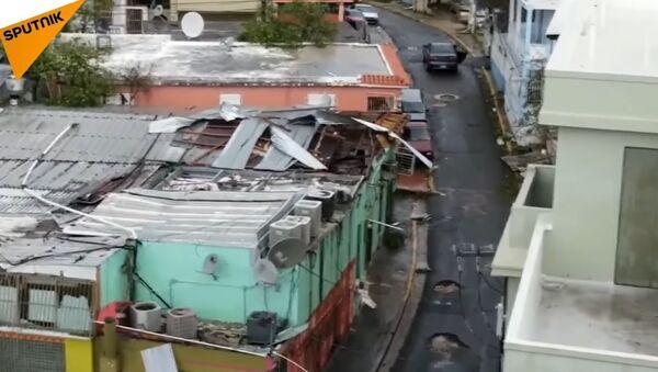 Hurricane Maria Hits Puerto Rico - Sputnik International