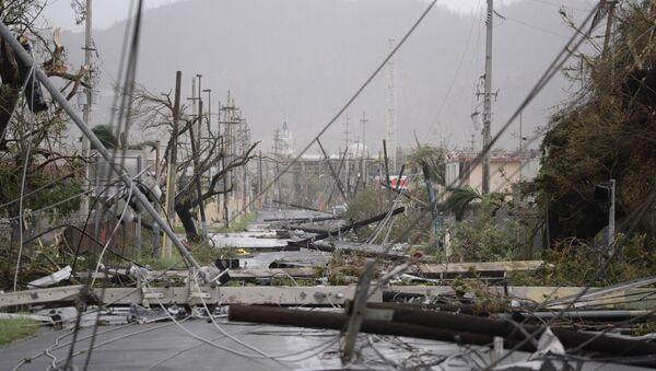 Puerto Rico Hurricane Maria - Sputnik International