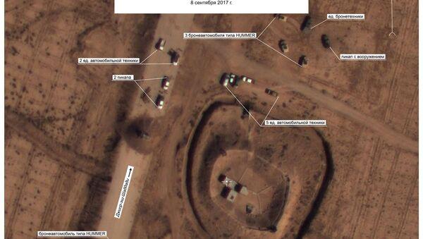 Footage of US Forces Near Daesh Positions North of Deir-ez-Zor - Sputnik International