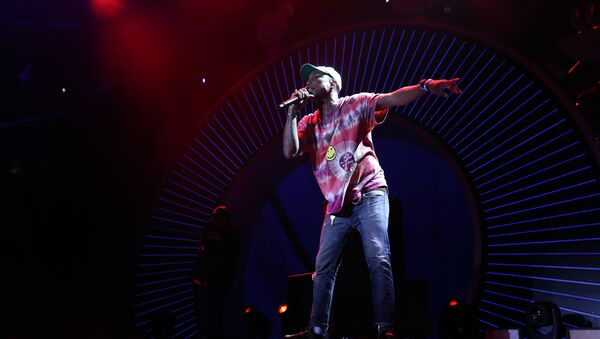 (File) Pharrell Williams performs on stage performs on stage during the Global Citizen Festival G20 benefit concert at the Barclaycard Arena in Hamburg, northern Germany on July 6, 2017 on the eve of the G20 summit - Sputnik International