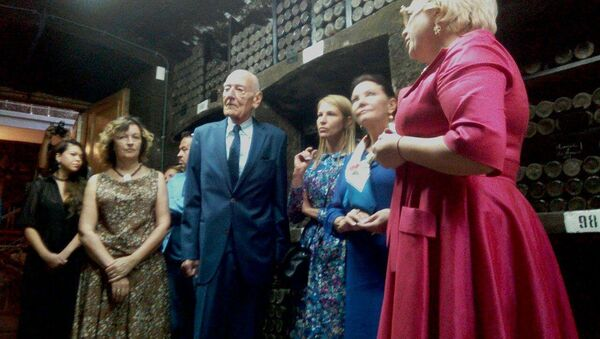 Descendant of Romanov dynasty Count Jan Bernadotte visits Crimea - Sputnik International