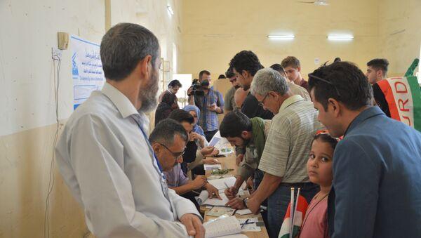Iraqi Kurdistan independence referendum - Sputnik International
