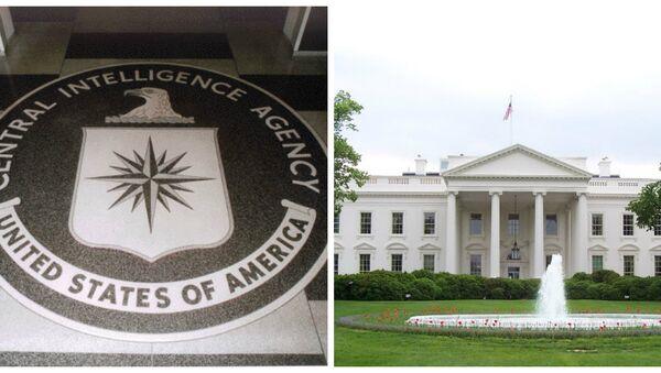 White House-CIA Collage - Sputnik International