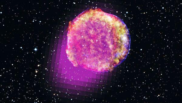 Tycho Brahe star shines in gamma rays - Sputnik International