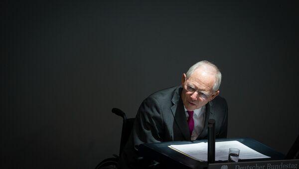German Finance Minister Wolfgang Schaeuble  (File) - Sputnik International