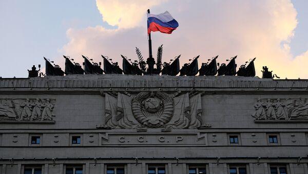 The Russian Defense Ministry building on Frunzenskaya embankment in Moscow - Sputnik International