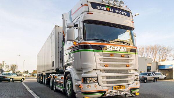 Scania truck - Sputnik International