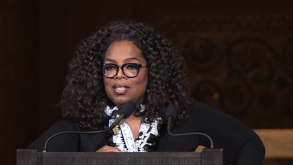 Oprah Winfrey speaks at Stanford University - Sputnik International