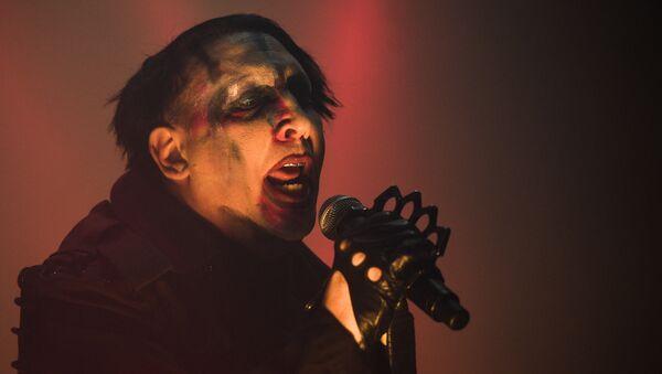 Marilyn Manson. File photo - Sputnik International
