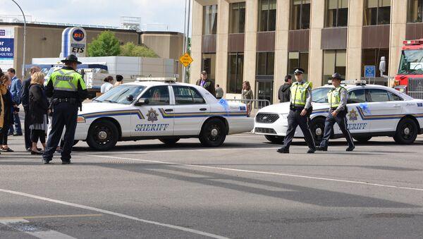 Police in Edmonton, Canada - Sputnik International