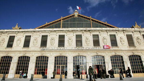 This file photo taken on December 10, 2007 shows the Saint-Charles train station in Marseille - Sputnik International