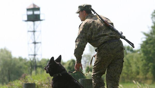 Russian border guard (File) - Sputnik International