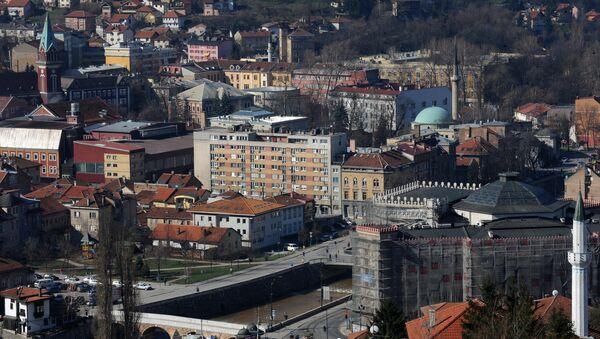 General view of Bosnian capital Sarajevo. (File) - Sputnik International