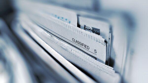 Classified documents - Sputnik International